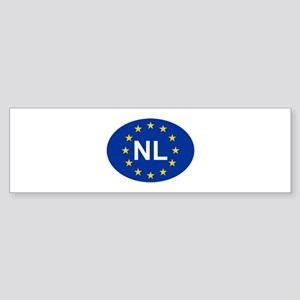 EU Netherlands Sticker (Bumper)