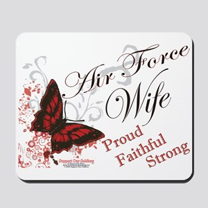 Air Force Wife Mousepad