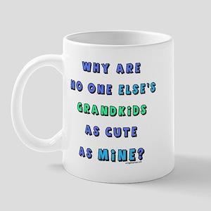 Grandkids as cute as mine Mug
