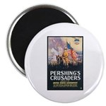 Pershing's Crusaders Poster Art Magnet