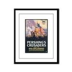 Pershing's Crusaders Poster Art Framed Panel Print