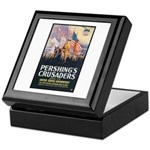 Pershing's Crusaders Poster Art Keepsake Box