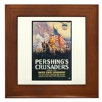 Pershing's Crusaders Poster Art Framed Tile