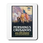 Pershing's Crusaders Poster Art Mousepad