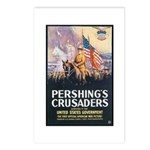 Pershing's Crusaders Poster Art Postcards (Package