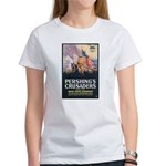 Pershing's Crusaders Poster Art Women's T-Shirt
