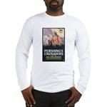 Pershing's Crusaders Poster Art Long Sleeve T-Shir