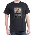 Pershing's Crusaders Poster Art (Front) Black T-Sh