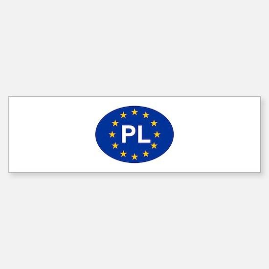 EU Poland Sticker (Bumper)