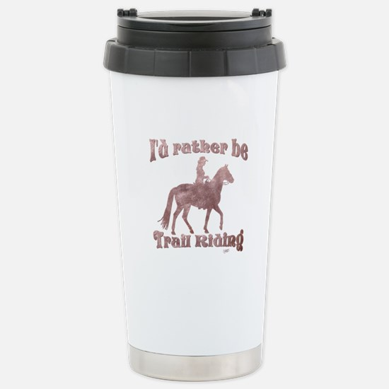 Riding Trails Stainless Steel Travel Mug
