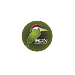 Iron Jacamar Mini Button (10 pack)
