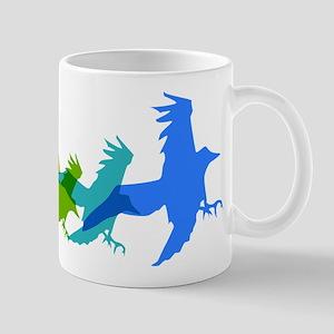 Raven in Flight Mug