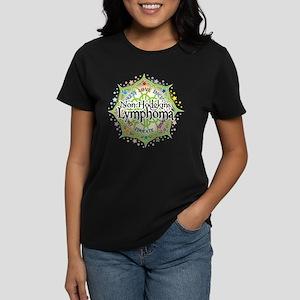 Non-Hodgkins Lymphoma Lotus Women's Dark T-Shirt