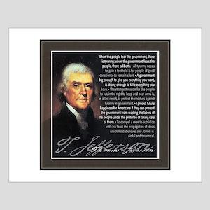 Jefferson: Liberty vs. Tyrann Small Poster