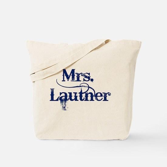 Mrs. Lautner Tote Bag