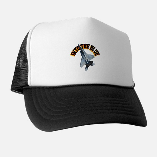 F15 Into the Blue Trucker Hat