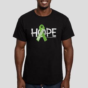 Non-Hodgkins Lymphoma Hope Men's Fitted T-Shirt (d