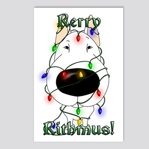 Bull Terrier - Rerry Rithmus Postcards (Package of