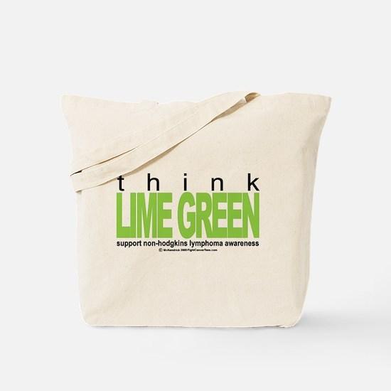 Non-Hodgkins Lymphoma Think Tote Bag