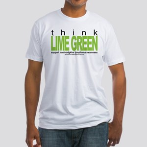Non-Hodgkins Lymphoma Think Fitted T-Shirt