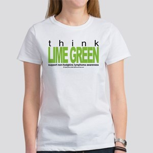 Non-Hodgkins Lymphoma Think Women's T-Shirt