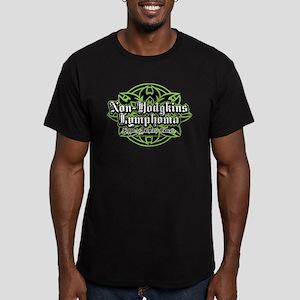 Non-Hodgkins Lymphoma Tribal Men's Fitted T-Shirt