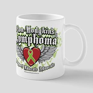 Non-Hodgkins Lymphoma Wings Mug