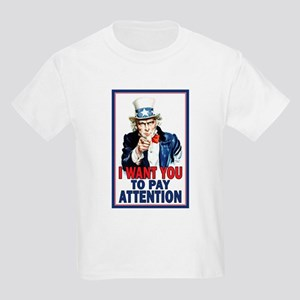 Uncle Sam: Classroom Kids Light T-Shirt