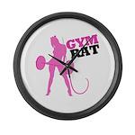 Gym Rat Large Wall Clock