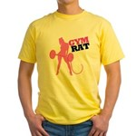 Gym Rat Yellow T-Shirt
