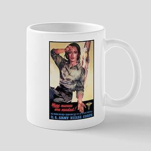 More Nurses Poster Art Mug