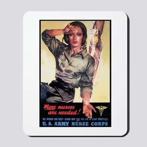 More Nurses Poster Art Mousepad