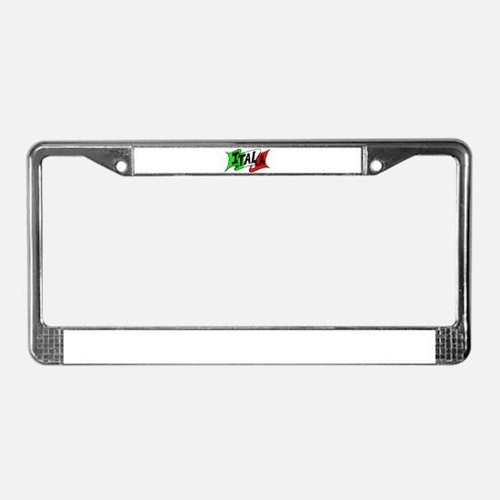 Cute Bella License Plate Frame