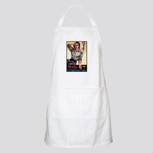 More Nurses Poster Art BBQ Apron