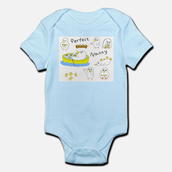 Perfect Nanny Infant Bodysuit