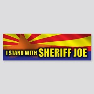 I Stand with Sheriff Joe Sticker (Bumper)
