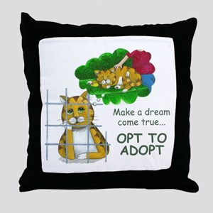 """Make a Dream"" Throw Pillow"