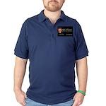 drs photos logo 2017 yard sign Dark Polo Shirt