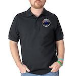 Drs Photos Logo Dark Polo Shirt
