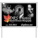 Drs Photos Logo Yard Sign