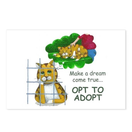 """Make a Dream"" Postcards (Package of 8)"