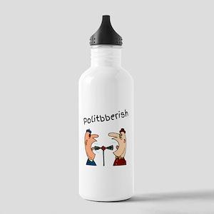 Politbberish L Water Bottle