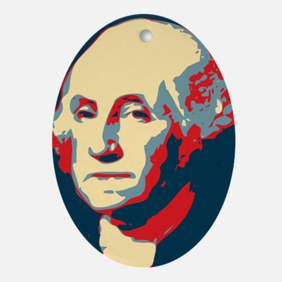 Christmas Ornament George Washington Hope