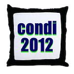 condi 2012 Throw Pillow
