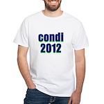 condi 2012 White T-Shirt