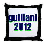 guiliani 2012 Throw Pillow