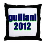 guiliani 2012 Throw Pillow