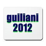 guiliani 2012 Mousepad