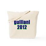 guiliani 2012 Tote Bag