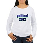 guiliani 2012 Women's Long Sleeve T-Shirt